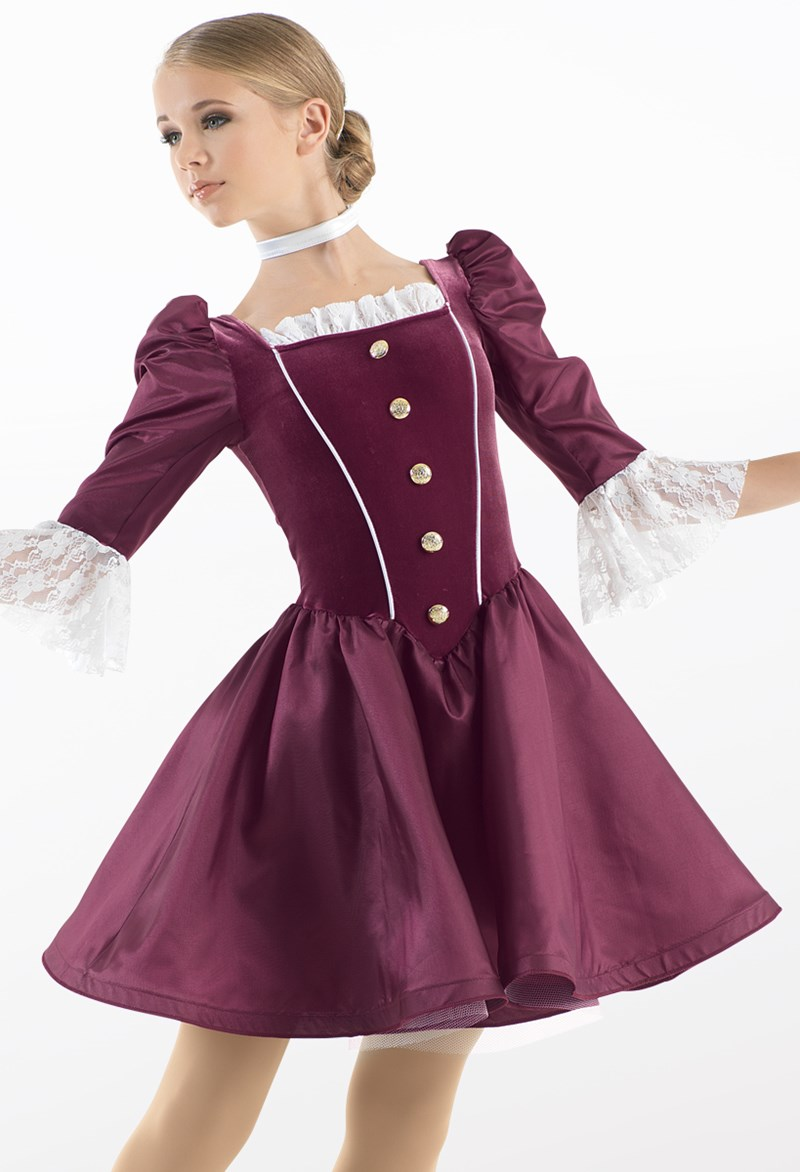High Society Character Dance Costume Weissman