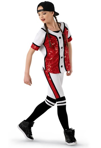 weissman®  hiphop baseball uniform costume
