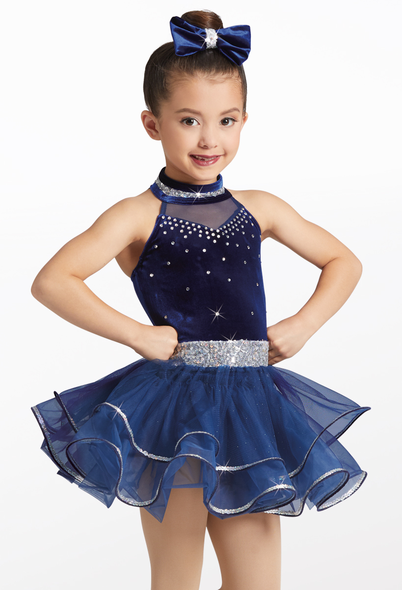 Trolley Song Jazz Tap Dance Costume Child Medium