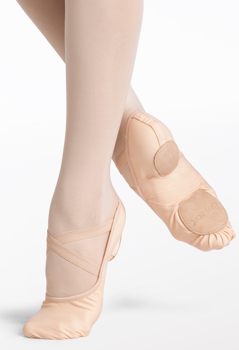 Kid Hanami Canvas Split-Sole Ballet