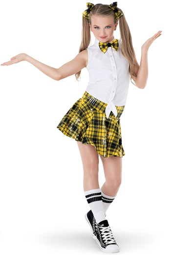 Weissmanu2122 | Plaid Hip-Hop Schoolgirl Hip-Hop