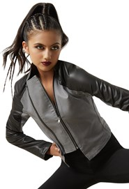 96bef35f2 Moto Detail Military Jacket