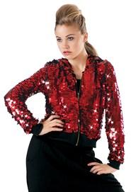 8f1b9028 Red Sequin Jacket | Dancewear Solutions®