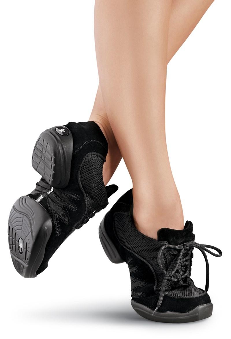big sale ac195 bba2c Unisex Suede Split-Sole Dance Sneaker | Balera™