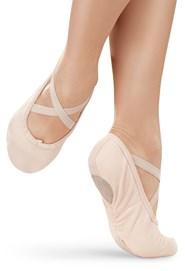 Canvas Split-Sole Ballet Shoe