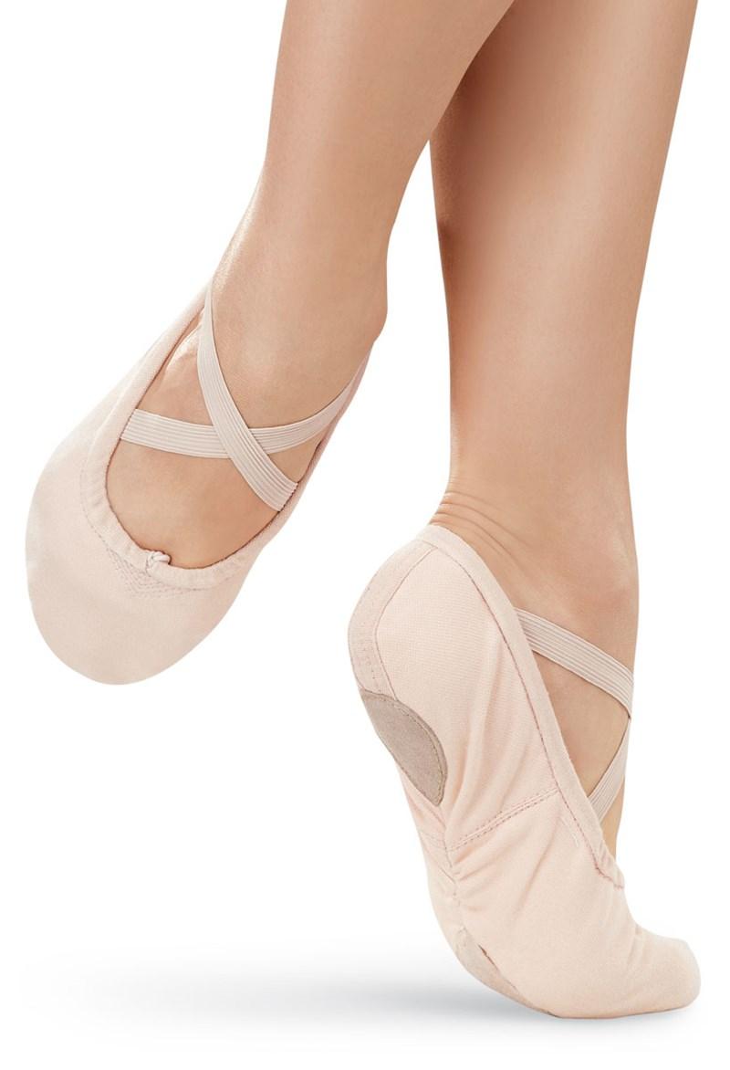 e2cf8b7b62e5 Canvas Split-Sole Ballet Shoe