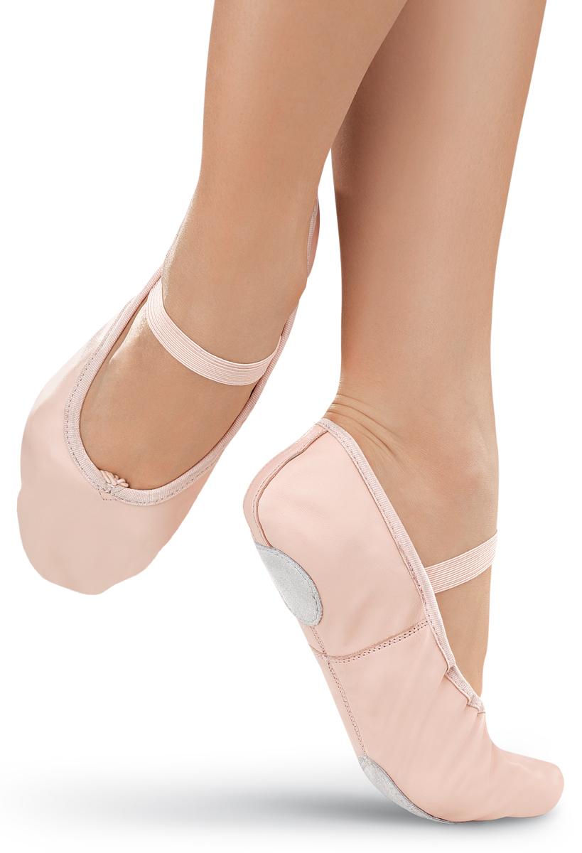 Leather Split-Sole Ballet Shoe | Balera™
