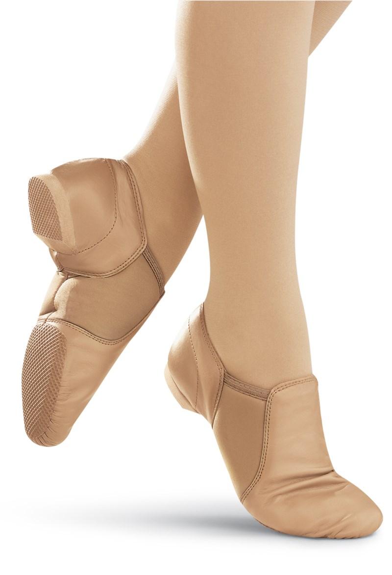 4766a8ac2232 Slip On Leather Split-Sole Jazz Shoe