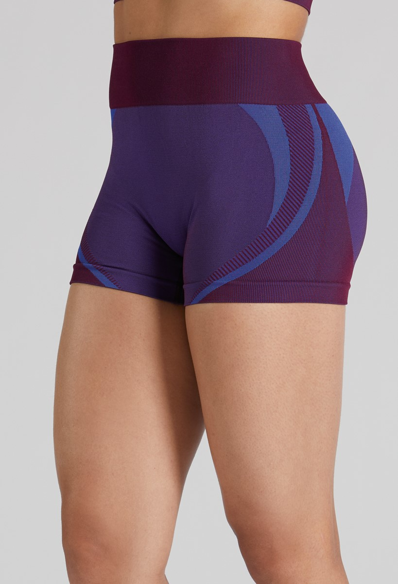 NWT Plum Booty SHORTS child//adults Dance Gymnastics matte spandex