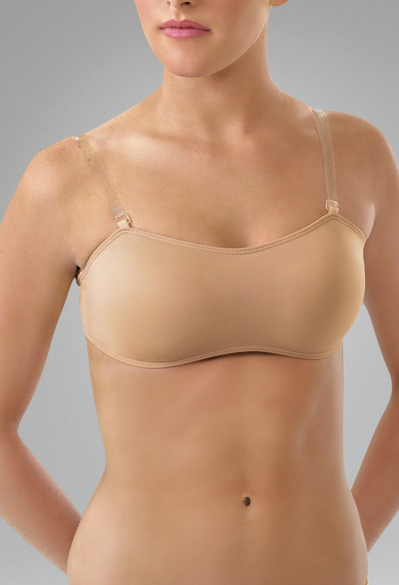 b9e5d0b6569 Padded Bra with Clear Straps