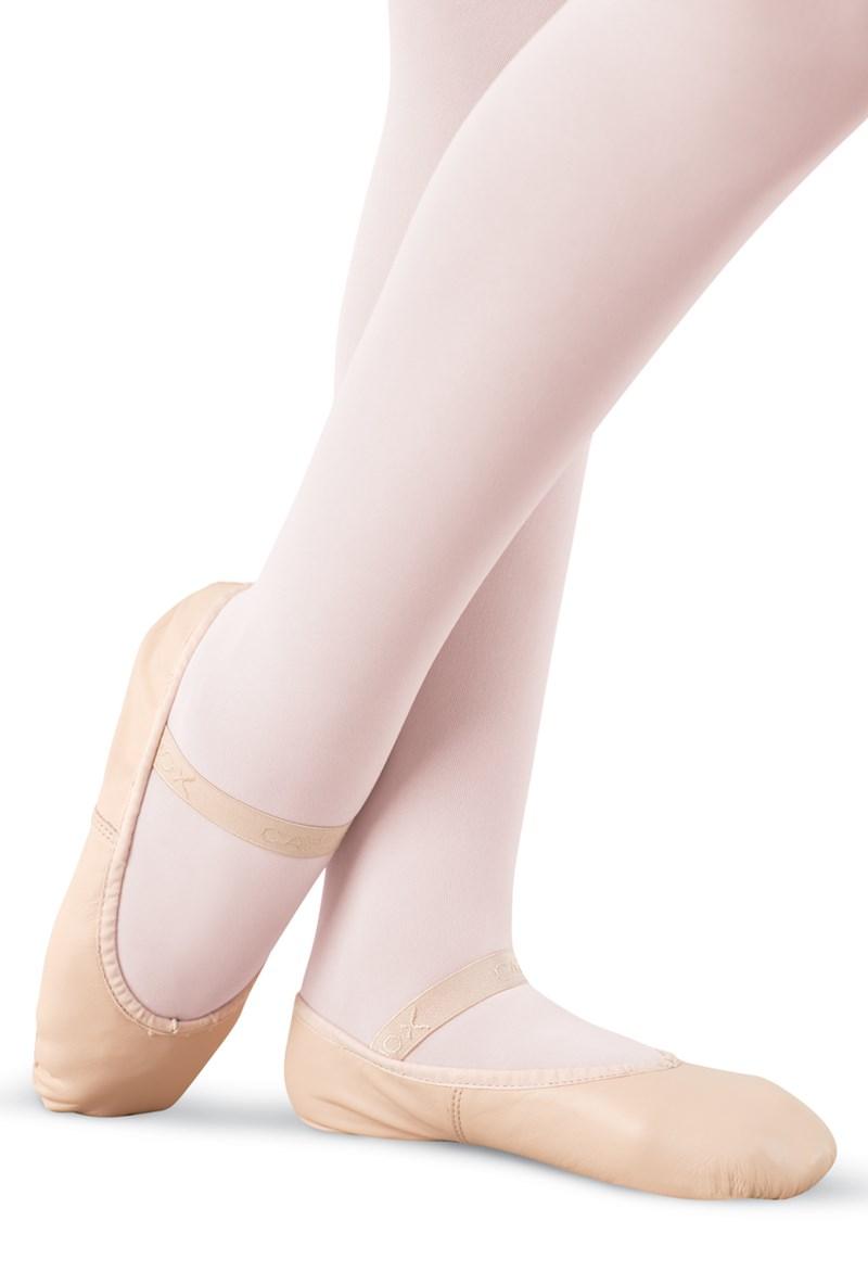 348e299933fa Daisy Leather Full-Sole Ballet Shoe