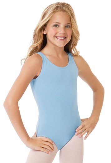 8bb5d9866 Girls  Cotton Tank Dance Leotard