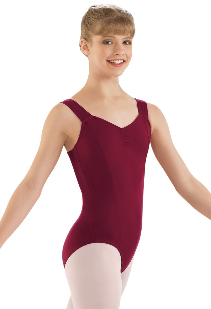 ebac35393 Women s Tank Leotard with Princess Seams