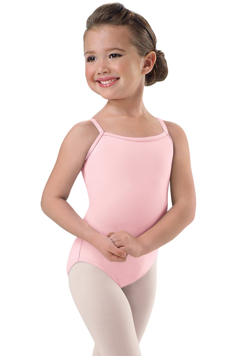 8fc9cf7cd Girls  Cotton Camisole Dance Leotard