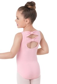 Kids' Bow-Back Leotard