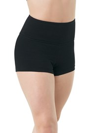 Cotton Wide Waistband Shorts