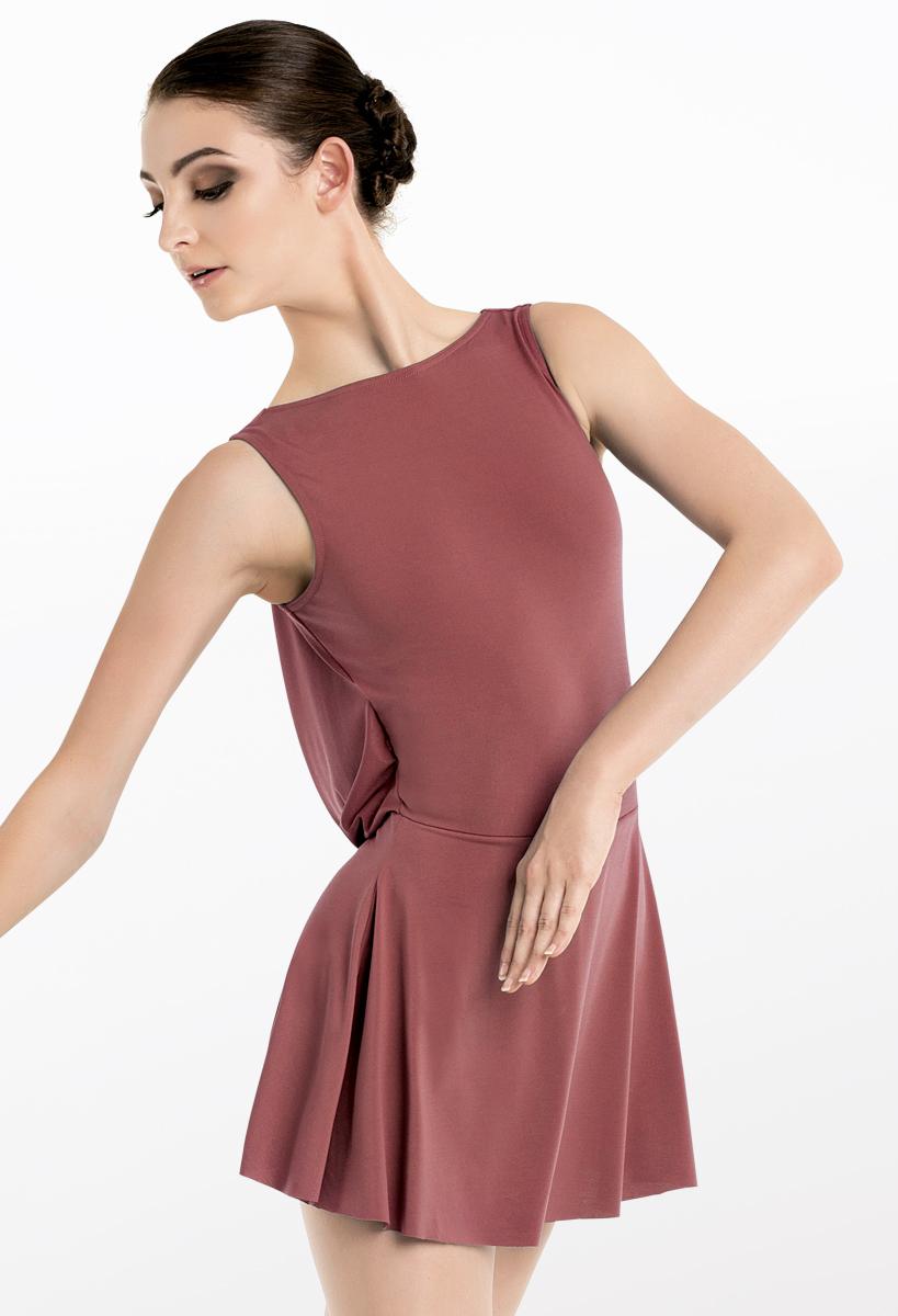 Matte Jersey Dress With Back Drape Balera