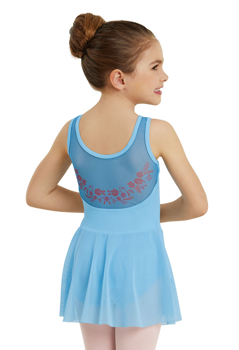 59d5a9fbc Balera Dress Girls One Piece For Dance Kids Tank Leotard With Tiered ...
