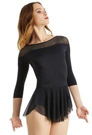 7a4a714e9dc8bf Balera Boat Neck Ballet Dress