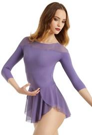 Boat Neck Ballet Dress e2274c7c5d54