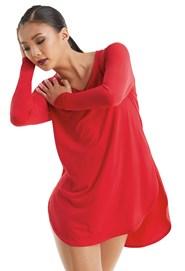 d6b4eb64dde Balera Long Sleeve Favorite Tee Dress