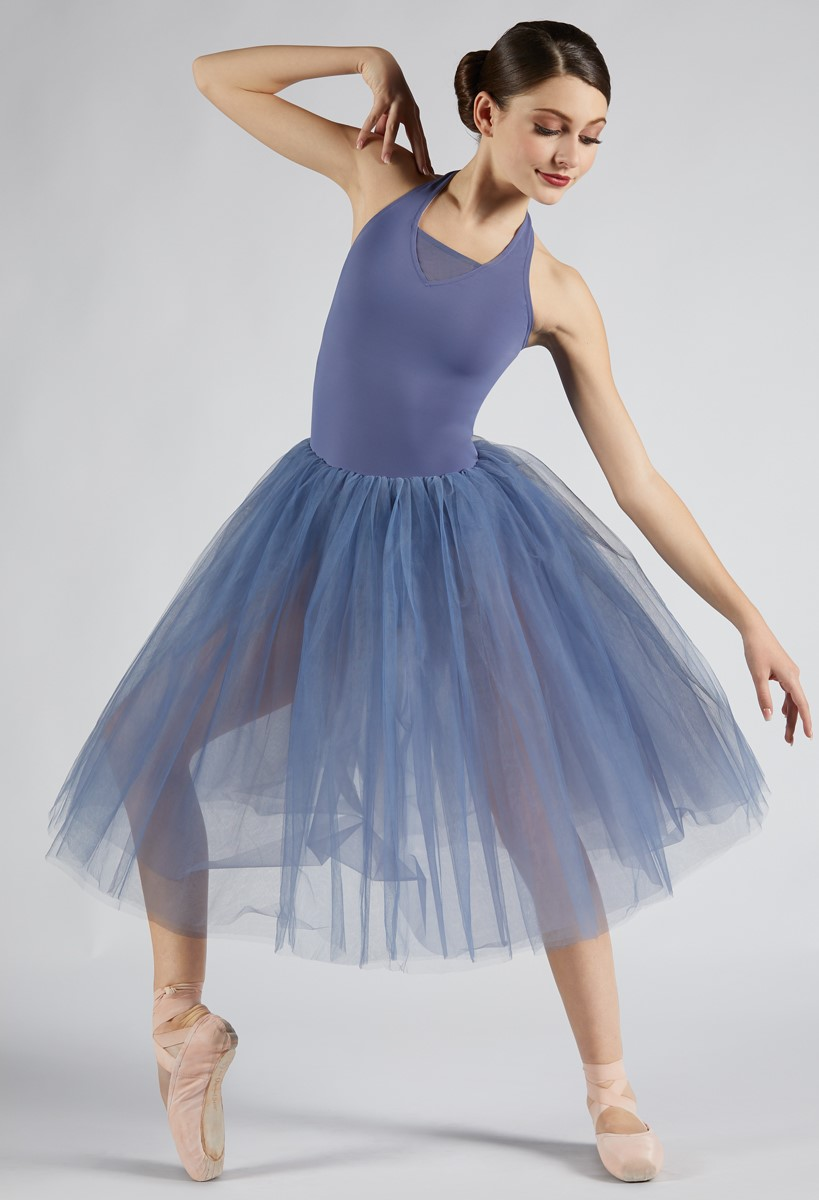 NWT Body Wrappers GIRLS BALLET DANCE DRESS Tank Leotard Skirt Attached 3 colors