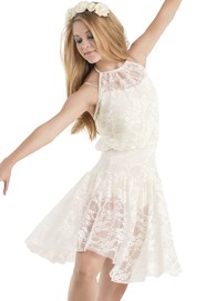 Floral Lace Day Dress