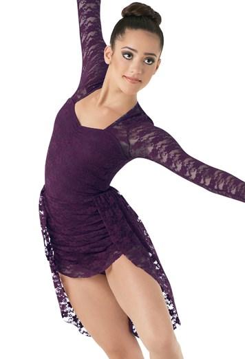 Stretch Lace Lyrical Dance Dress Balera