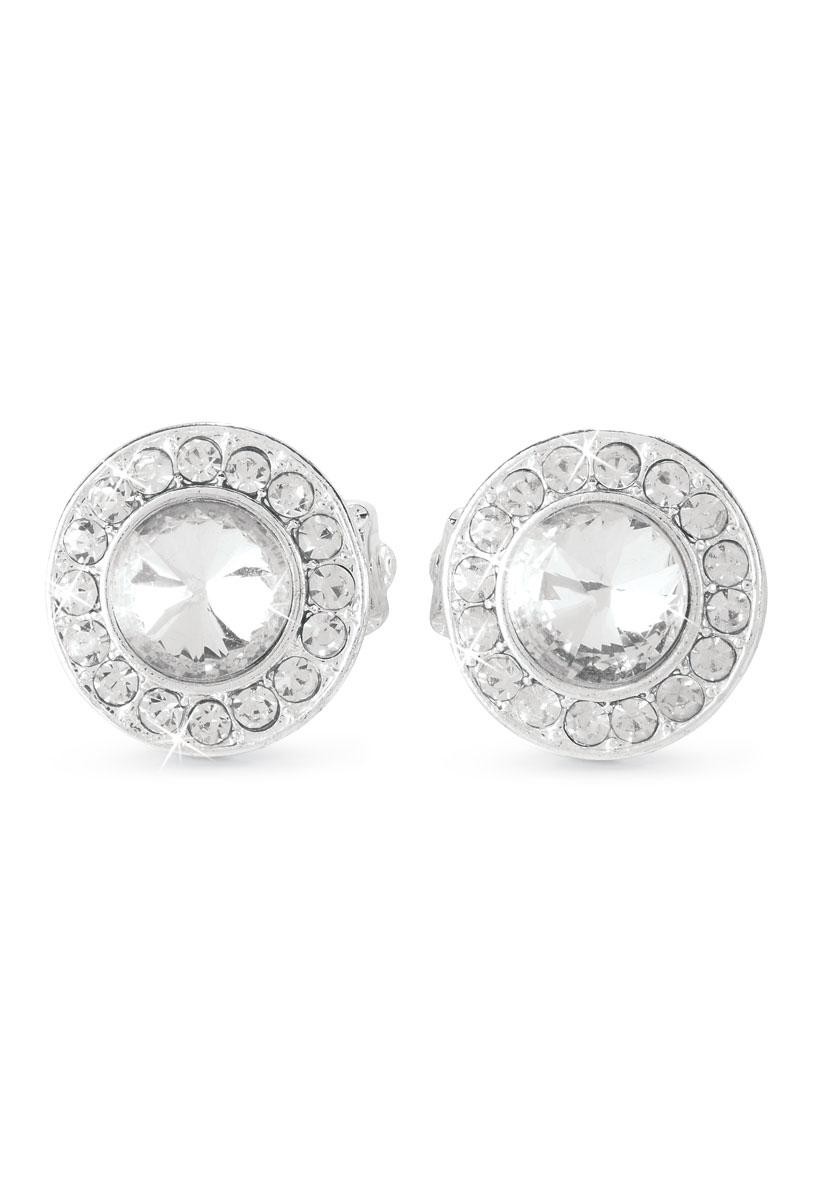 Rhinestone Clip-On Earrings  sc 1 st  Dancewear Solutions & Rhinestone Clip-On Dance Costume Earrings |Balera™