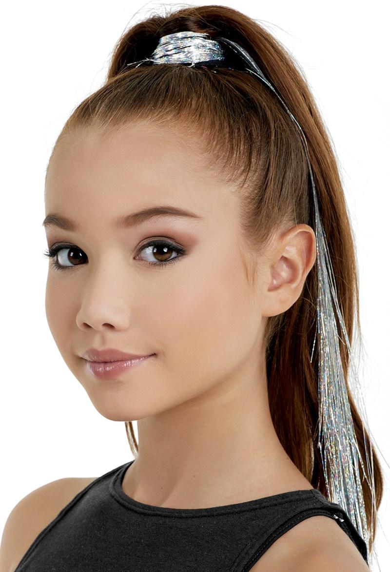 Neon Tinsel Clip On Hair Extensions Balera