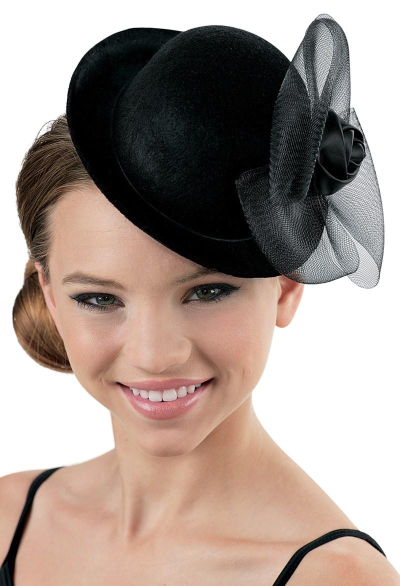 0b294d90eb Bowler Hat Fascinator with Satin Rosette