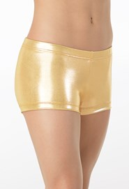 Metallic Dance Shorts