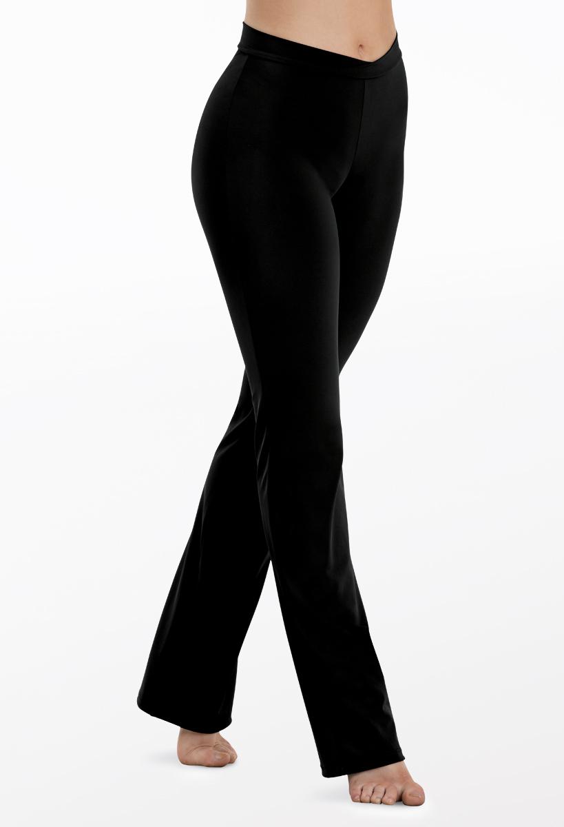 Details about  /CONVERTIBLE Black DANCER Jazz PANTS converts to capri pants Ladies Sizes 93350PE