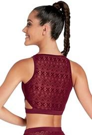 696341c84d2 Mesh Crop Top | Dancewear Solutions®