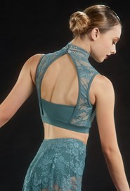 Crystal Lace Crop Top