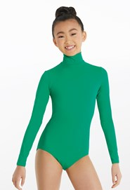 33f33ad91a Long Sleeve Mock Neck Leotard