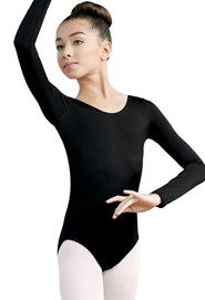 Matte Long-Sleeve Leotard