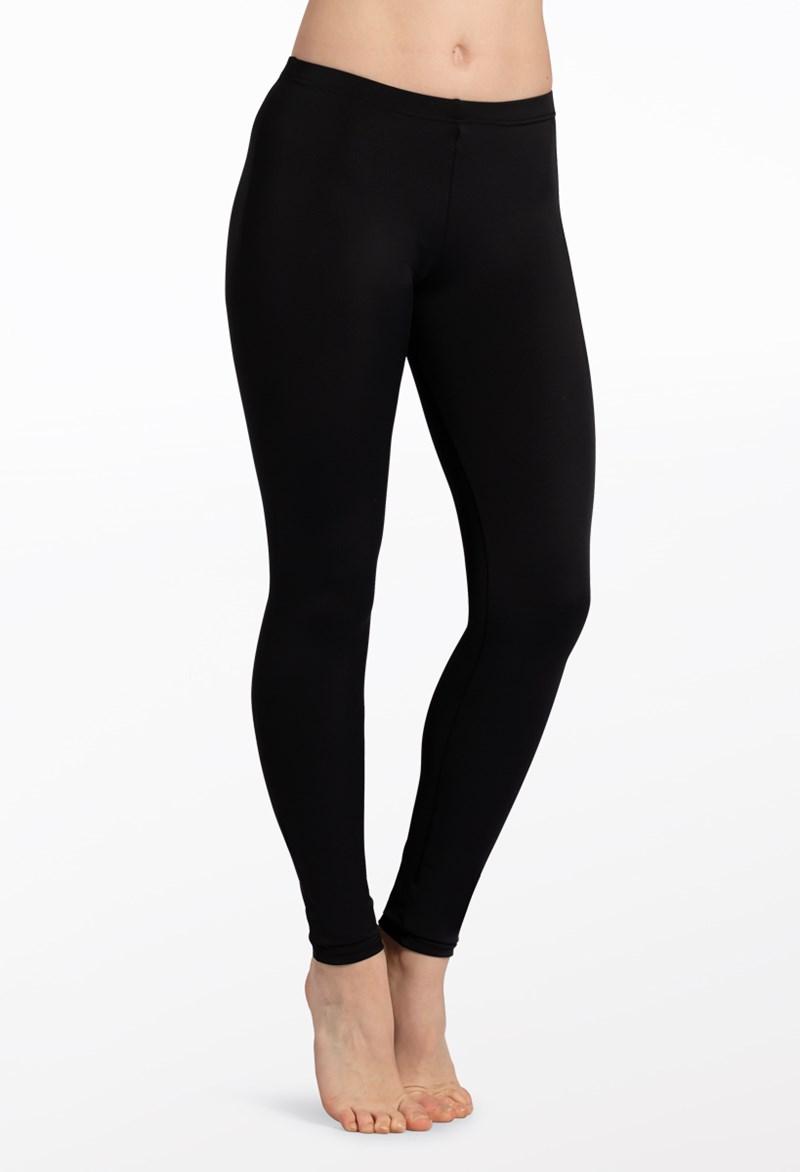 084b75ff26bb4 Full Length Matte Nylon Dance Leggings | Balera™