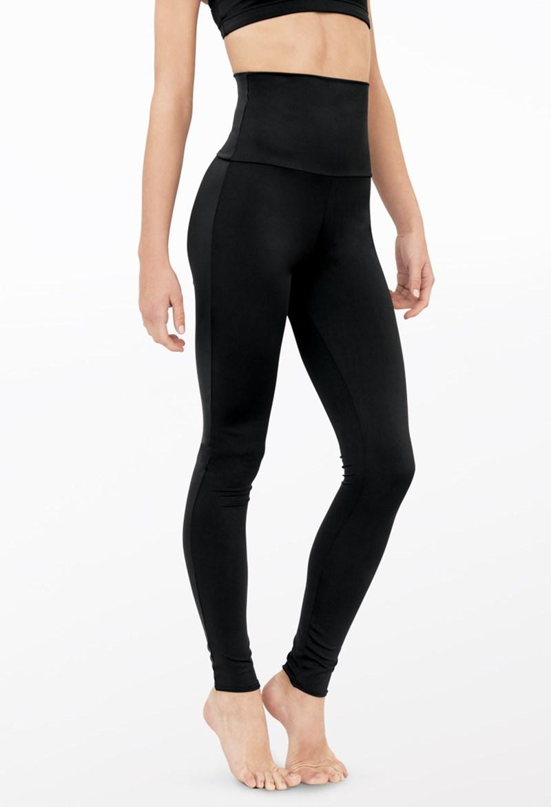 616705dd626002 High-Waist Full-Length Dance Leggings | Balera™