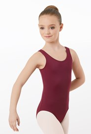 Matte Nylon Tank Leotard