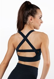 Crisscross Back Bra Top