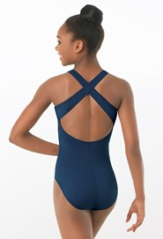 Basic High-Neck Leotard