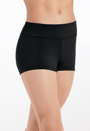 Wide Waistband Shorts