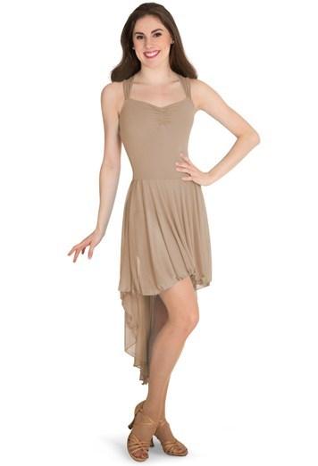 Dance Dress with Crisscross Straps  3ab21a82d