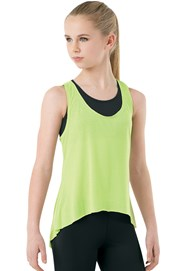 Lightweight High-Low Tank Top
