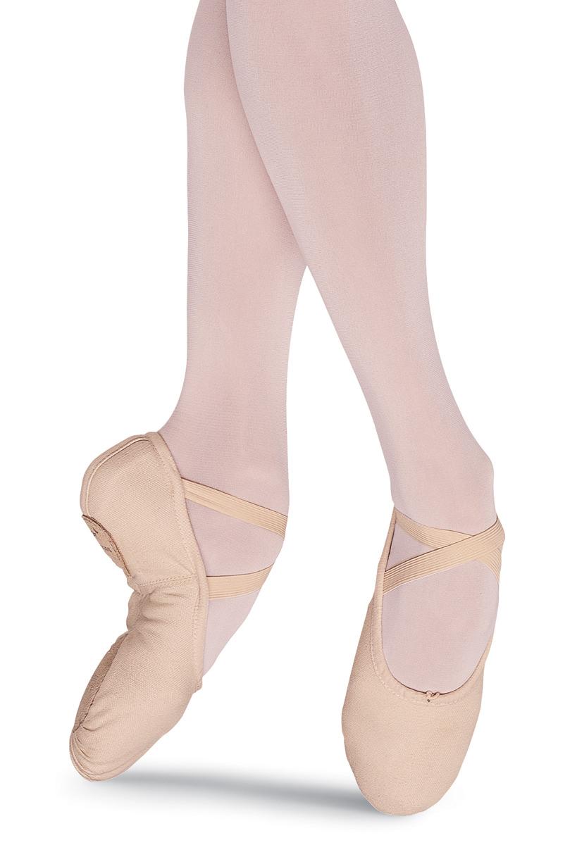 Pump Canvas Split-Sole Ballet Shoe | Bloch