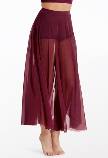 High Waist Mesh Maxi Skirt | Balera™
