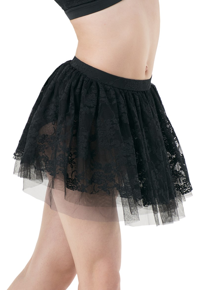 70s hair styles lace and soft tulle skirt with briefs balera 9786
