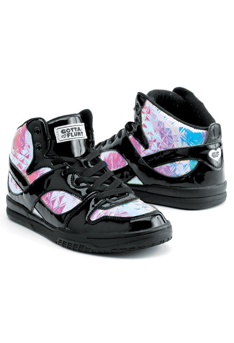 Hologram High Top Dance Sneakers | Gotta Flurt