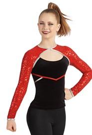 78d6f46aa Long Sleeve Dance Top